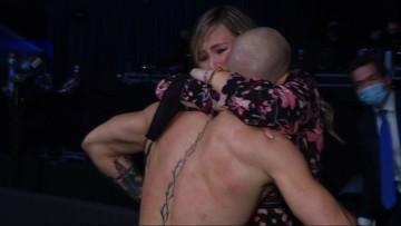 UFC 257: Smutek McGregora i łzy jego ukochanej (WIDEO)