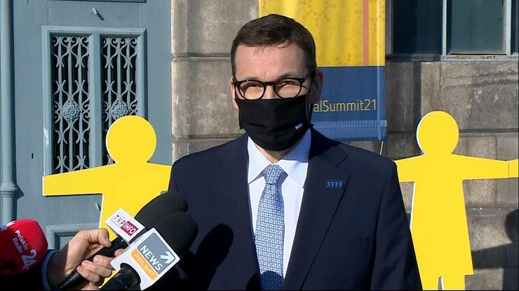"""""""Szczepionki dobrem wspólnym"""". Premier oczekuje szybkiej reakcji unijnych przywódców"""