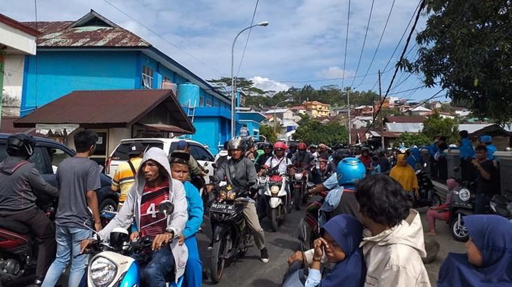 Silne trzęsienie ziemi nawiedziło wschodnią Indonezję