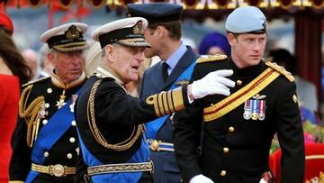 Książę Harry przyleciał na pogrzeb dziadka. Meghan została w USA