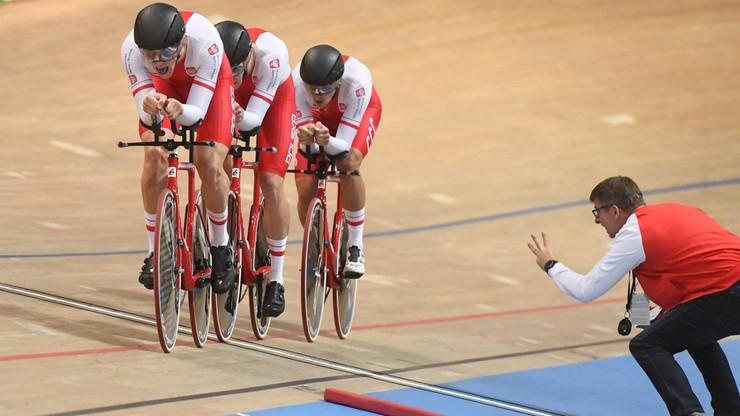 ME w kolarstwie torowym: Rekord Polski męskiej drużyny na 4 km