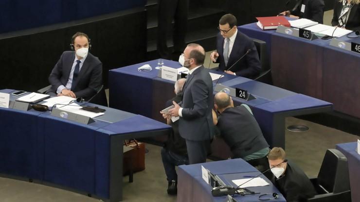 Gorąco w PE. Debata po wystąpieniach Leyen i Morawieckiego  [RELACJA LIVE]
