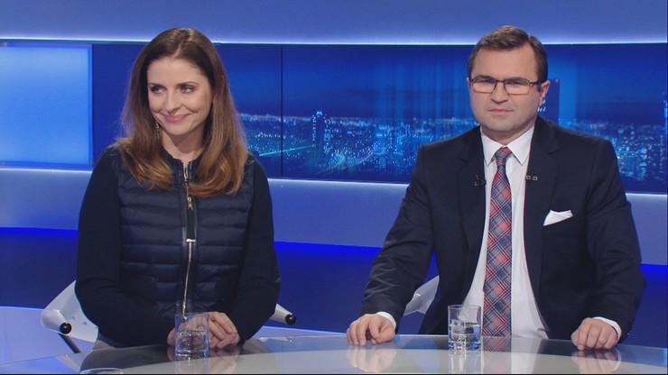 """Polityczna burza wokół szefa NIK. Joanna Mucha i Zbigniew Girzyński w """"Wydarzeniach i Opiniach"""""""