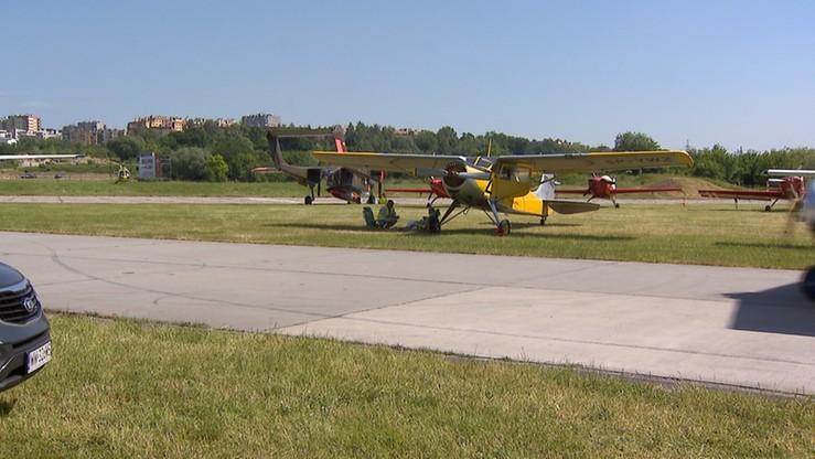 Wypadek szybowca podczas pikniku lotniczego w Krakowie