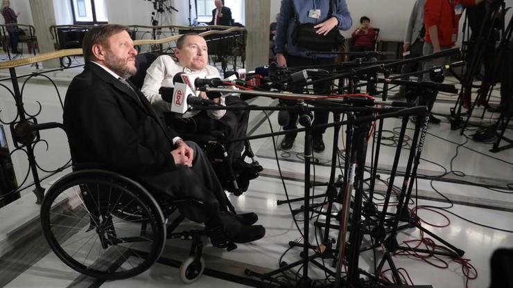 PO: zmiany w ordynacji wyborczej to zamach na godność osób niepełnosprawnych
