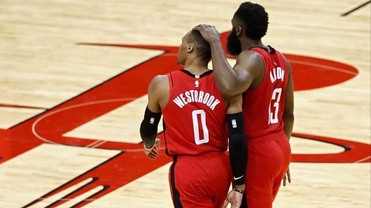 NBA: James Harden i Russell Westbrook zniknęli. Gdzie są gwiazdy Rockets?