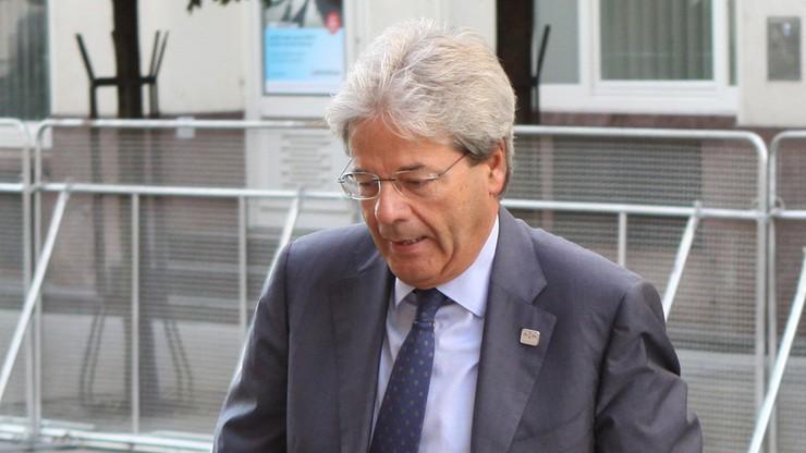 Paolo Gentiloni nowym premierem Włoch