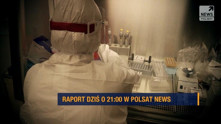 """Fakty i mity o koronawirusie. """"Raport"""" o 21:00 w Polsat News"""