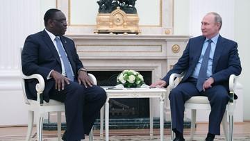 Putin pogratulował prezydentowi Senegalu wygranej z reprezentacją Polski