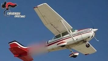 Transport kokainy zrzucony z samolotu