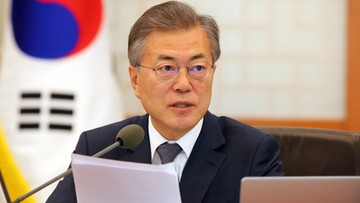 Prezydent Korei Południowej: możliwy trójstronny szczyt z Koreą Płn. i USA. Historyczne wydarzenie