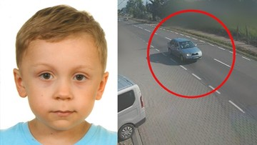 Poszukiwania 5-letniego Dawida. Jest nagranie przejazdu samochodu ojca