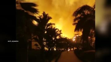 """Pożar w hotelu zamiast """"wakacji marzeń"""". Biuro podróży nie bierze odpowiedzialności"""