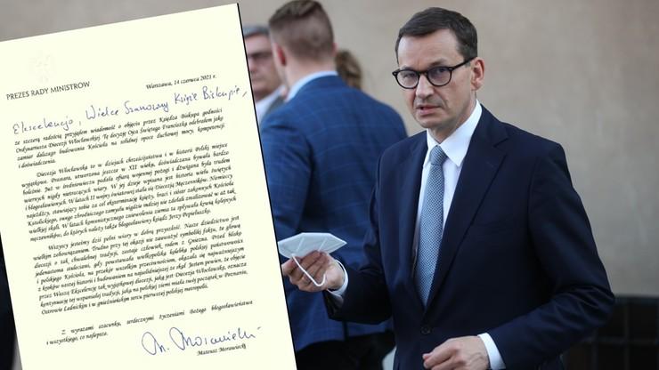 List gratulacyjny Mateusza Morawieckiego. Pomylił Włocławek z Wrocławiem