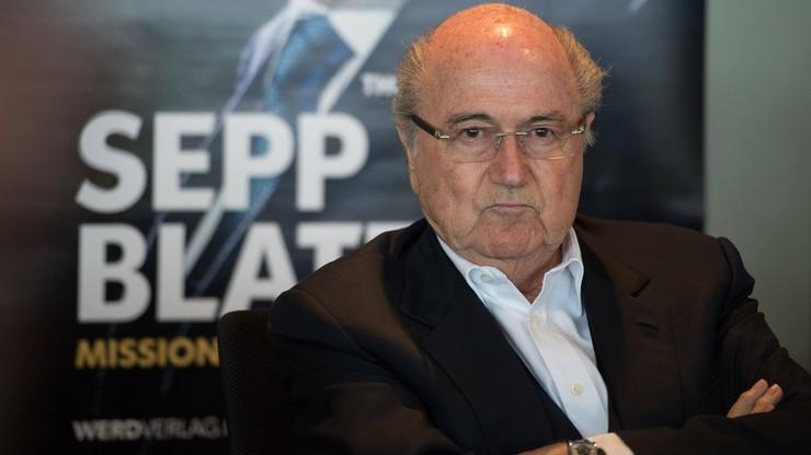 MŚ 2018. Blatter: Przyjechałem do Rosji jako kibic