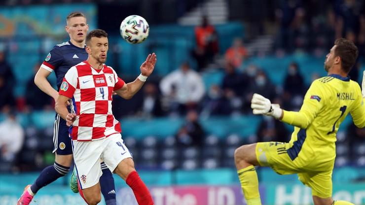 Euro 2020: Chorwacja - Szkocja 3:1. Gol Ivana Perisicia