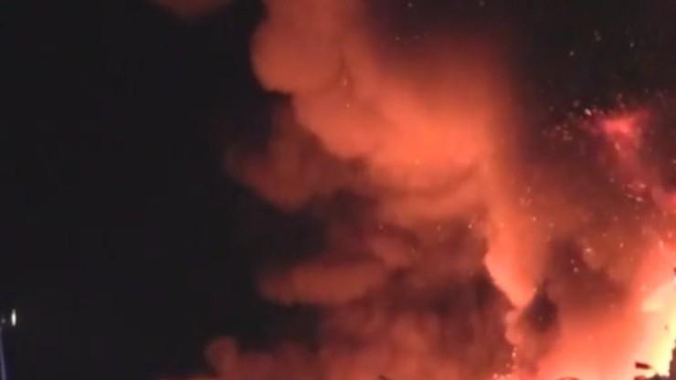 Nocne pożary w Częstochowie i Żywcu. 22 osoby ewakuowane, pięć trafiło do szpitala