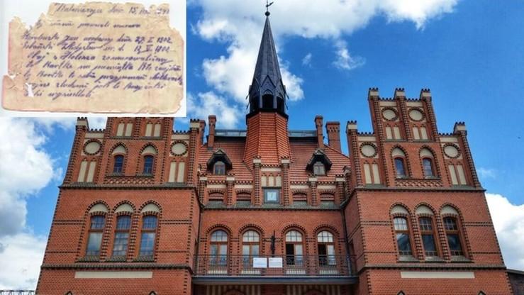 W ścianie dworca znaleziono list sprzed 80 lat. Kto jest jego autorem?