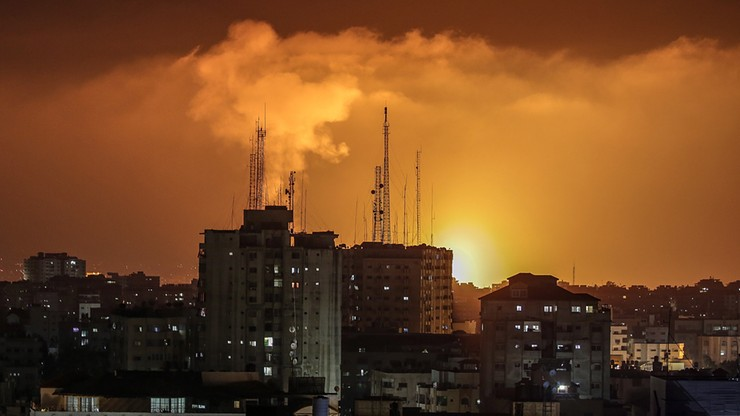 Tragiczny bilans nocnej wymiany ognia w Izraelu. Wystrzelono ponad 250 rakiet.