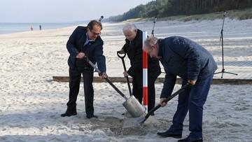 Kaczyński wbija łopatę przy budowie przekopu Mierzei. Pozwolenia na inwestycję nie ma
