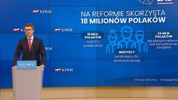 """Polski Ład. Rząd zapowiada zmiany w systemie podatkowym. """"Ma wiele wad"""""""
