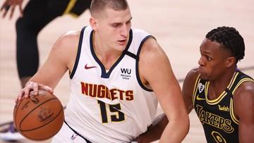 NBA: Punktowy rekord Nikoli Jokica, lidera klasyfikacji... asyst