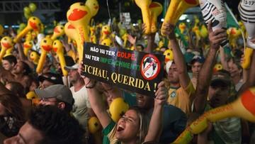 Prezydent Brazylii coraz bliżej utraty urzędu. Parlamentarzyści za impeachmentem dla Roussef