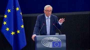 Juncker w orędziu o stanie UE: art. 7 należy stosować wszędzie tam, gdzie zagrożone są rządy prawa