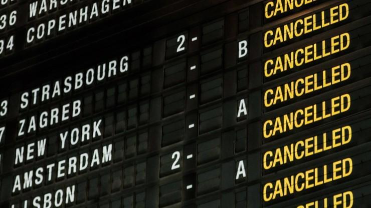 Odwołane pociągi, zamknięta przestrzeń powietrzna. Strajk generalny w Belgii
