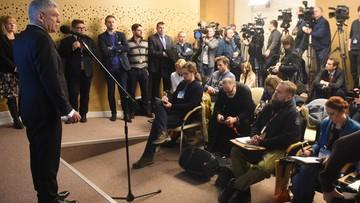 Karczewski: PiS robi krok do tyłu, wracamy do starych warunków pracy dziennikarzy