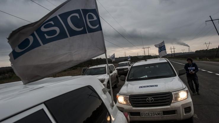 Wybuch samochodu OBWE na Ukrainie. Nie żyje obserwator ze Stanów Zjednoczonych, ranna Niemka