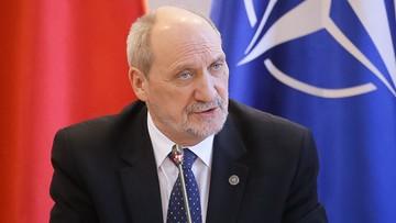 Macierewicz: jesienią 2015 polska armia była w złym stanie