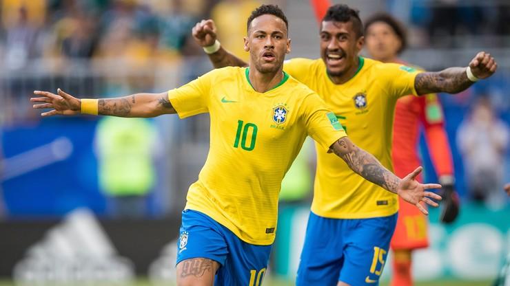Remis Brazylii z Kolumbią. Udany powrót Neymara
