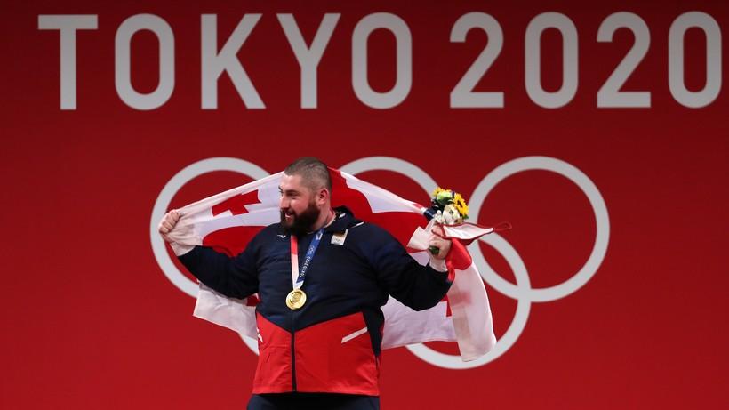 Tokio 2020: Łasza Tałachadze ze złotym medalem w podnoszeniu ciężarów