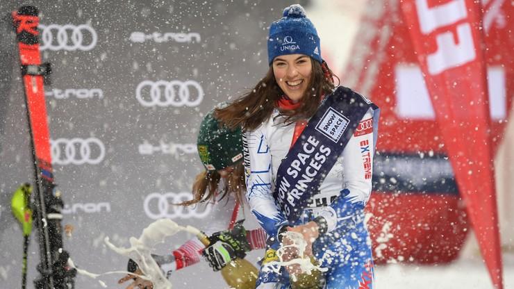 Alpejski PŚ: Vlhova w końcu pokonała Shiffrin w slalomie