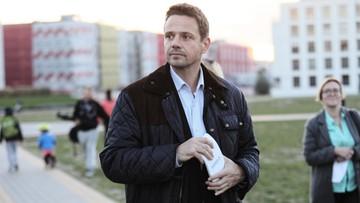 Trzaskowski: PiS próbuje szantażować warszawiaków