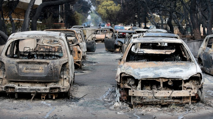 """""""Za pożarami w Grecji mogą stać koncerny deweloperskie"""""""