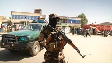 Trzy zamachy bombowe. Pierwsze po przejęciu władzy przez talibów