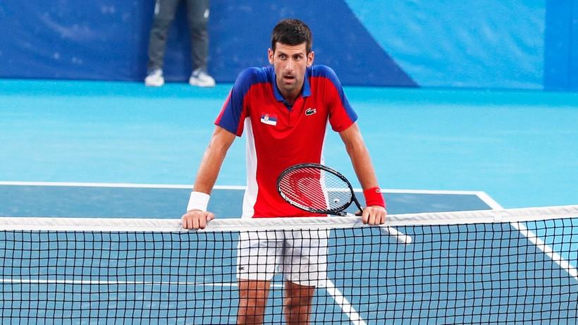 Tokio 2020: Novak Djokovic nie zagra o brązowy medal w mikście z powodu kontuzji
