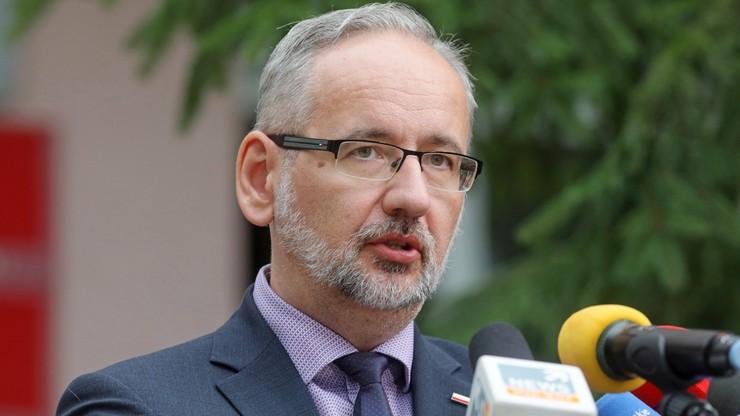 Minister zdrowia Adam Niedzielski: na Covid-19 chorują głównie niezaszczepieni