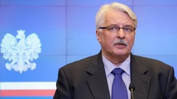 Szef MSZ o kolejnej kadencji Tuska: będziemy popierać Polaków na stanowiskach międzynarodowych
