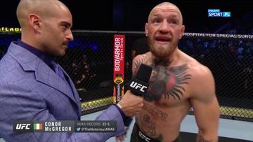 UFC 257. Conor McGregor: Muszę się odkurzyć i wrócić silniejszym