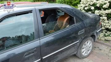 Porzucił auto, a w nim 2-letnie dziecko. Uciekał przed policją