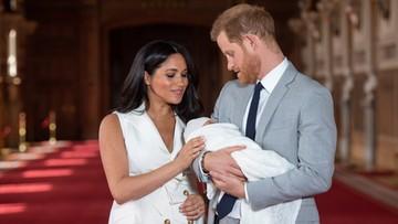 """Książę i księżna Sussex pokazali światu """"royal baby"""""""