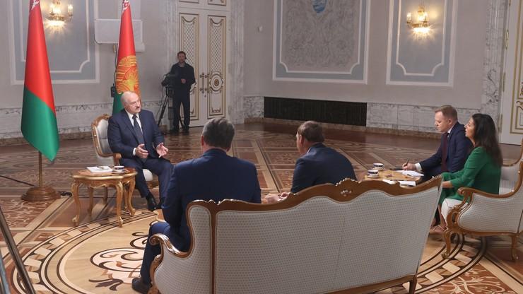 Łukaszenka w wywiadzie: jeśli załamię się, upadnie cały system