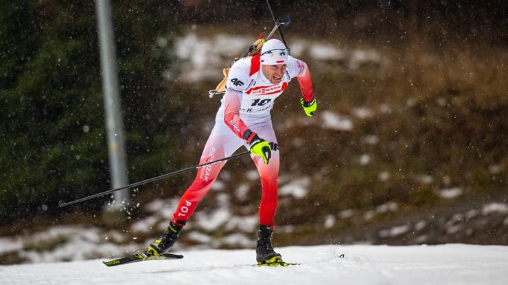 Polak zasłabł na trasie sprintu w Oberhofie (WIDEO)