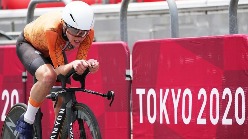Tokio 2020. Kolarstwo: Annemiek van Vleuten wygrała jazdę na czas. Anna Plichta przedostatnia