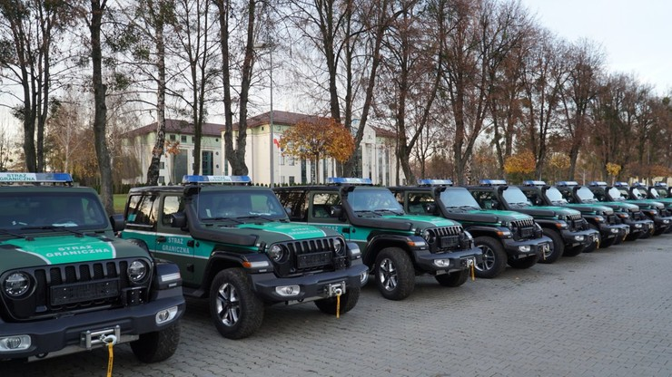 Nowe samochody w Straży Granicznej. Każdy za 241 tys. zł