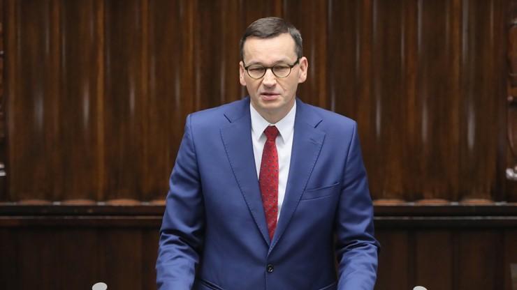 """""""Polska wraca ze szczytu UE jako wielki zwycięzca"""". Premier w Sejmie"""