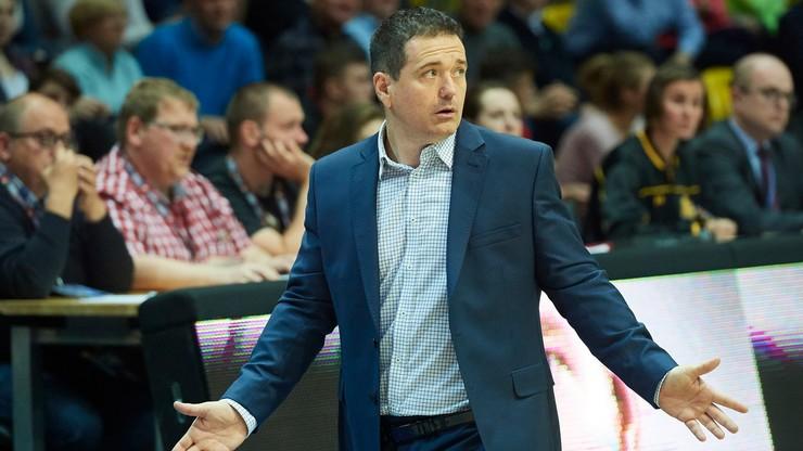 Energa Basket Liga: Dedek trenerem Startu Lublin na kolejne dwa lata